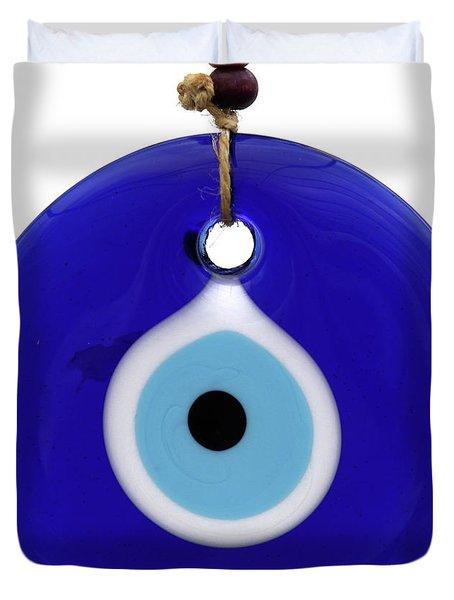 The Eye Against Evil Eye Duvet Cover