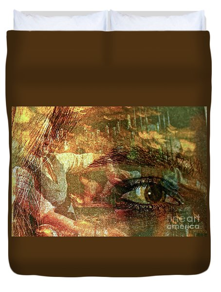 The Eye Maker Duvet Cover