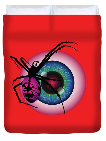 The Eye Of Fear Duvet Cover