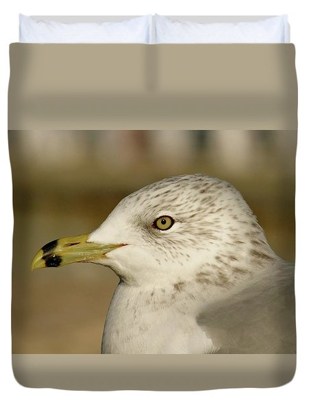 The Eye Of The Seagull Duvet Cover