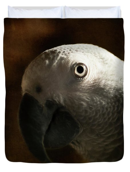 The Eyes Are The Windows To The Soul Duvet Cover