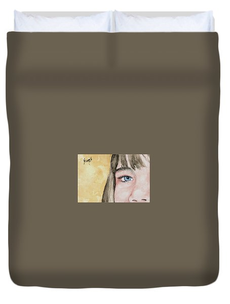 The Eyes Have It - Bryanna Duvet Cover