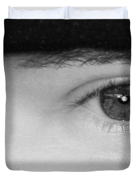 The Eyes Have It Duvet Cover by Christine Till