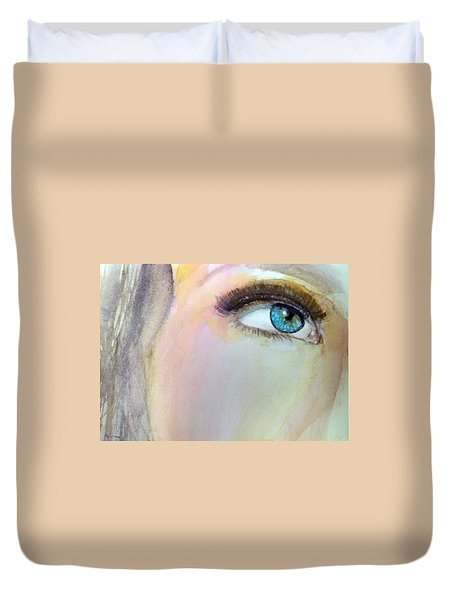 The Eyes Have It Duvet Cover by Ed  Heaton