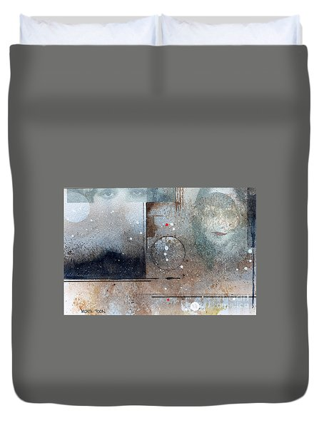 The Eyes Have It Duvet Cover by Monte Toon