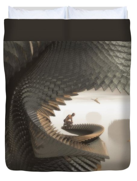 The Eyrie Duvet Cover