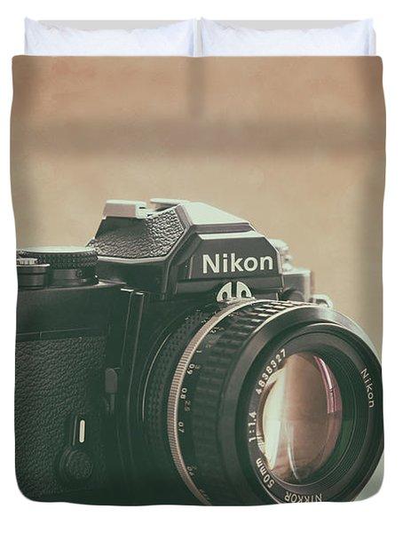 The Fabulous Nikon Duvet Cover