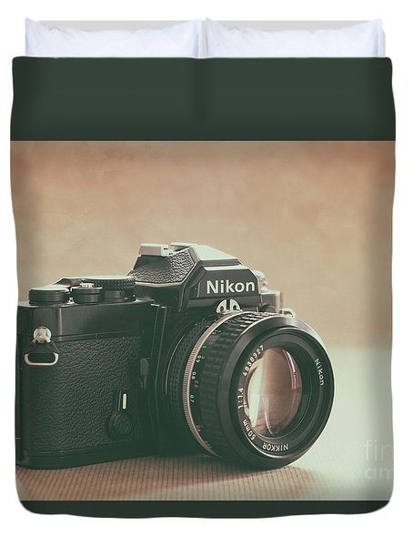 The Fabulous Nikon Duvet Cover