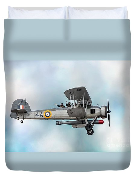 The Fairey Swordfish Duvet Cover
