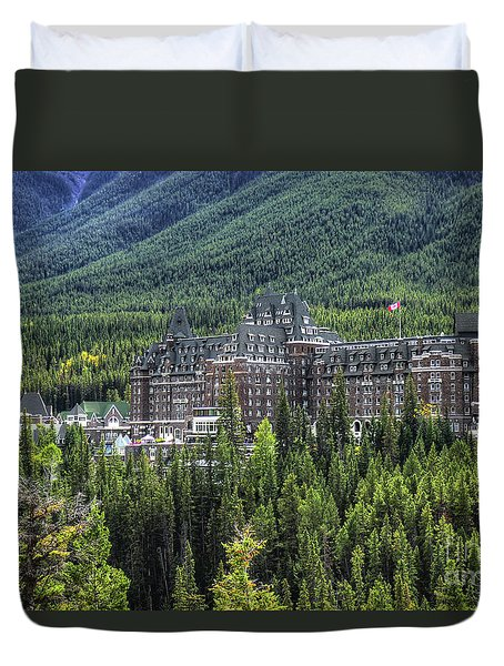 The Fairmont Banff Springs Duvet Cover