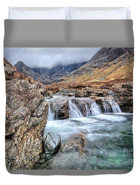 The Fairy Falls Duvet Cover