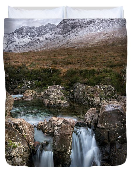 The Fairy Pools Duvet Cover
