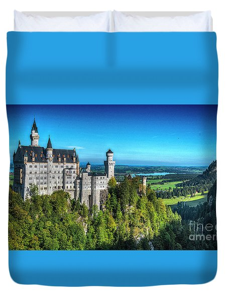 The Fairy Tale Castle Duvet Cover