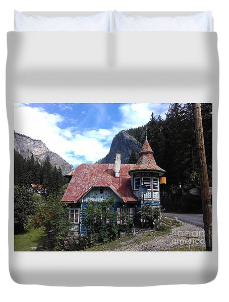 The Fairy Tale House  Duvet Cover