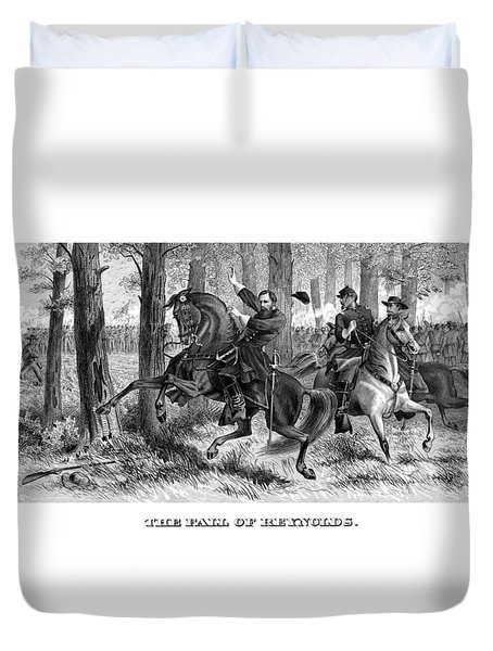 The Fall Of Reynolds Duvet Cover by War Is Hell Store