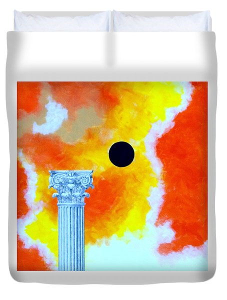 The Fall Of Rome Duvet Cover