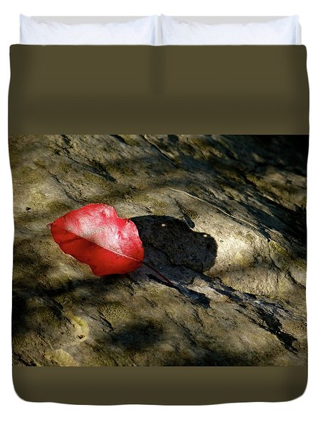 The Fallen Leaf Duvet Cover