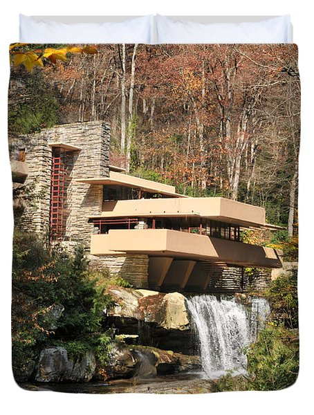 The Fallingwater Duvet Cover