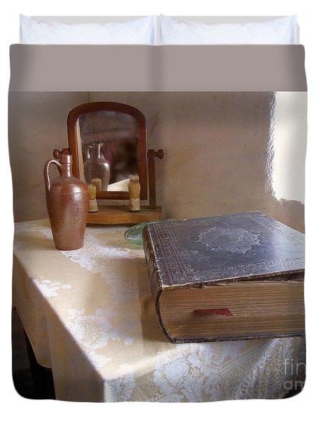 The Family Bible Duvet Cover