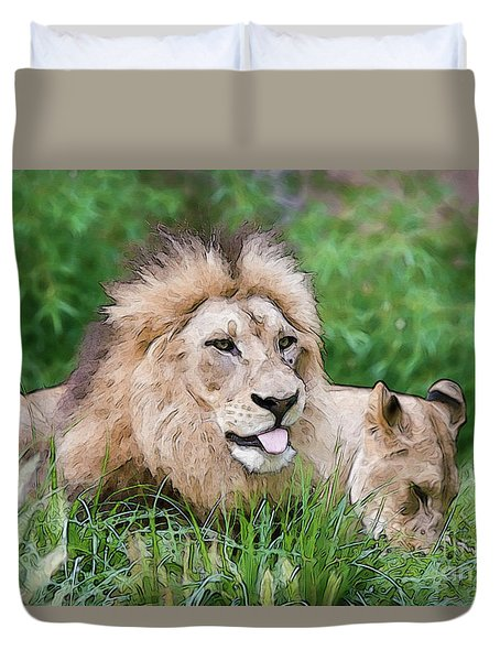 The Family Duvet Cover