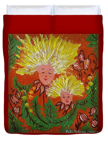 Family Duvet Cover by Rita Fetisov