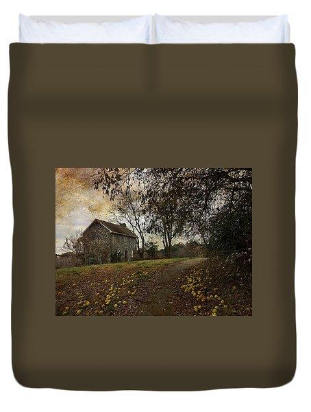 The Farm House  Duvet Cover