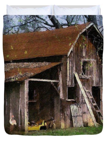 The Farm Duvet Cover by Teresa Mucha