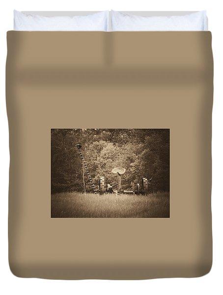 A Farmer's Field Duvet Cover