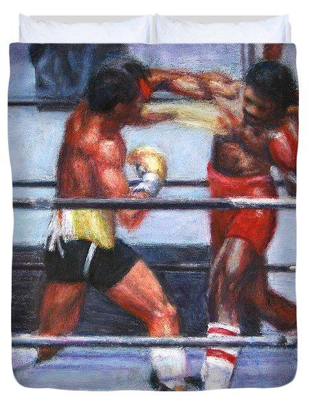 The Favor - Rocky 3 Duvet Cover