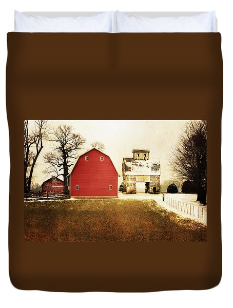 Duvet Cover featuring the photograph The Favorite by Julie Hamilton