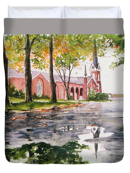 The Federated Church Duvet Cover
