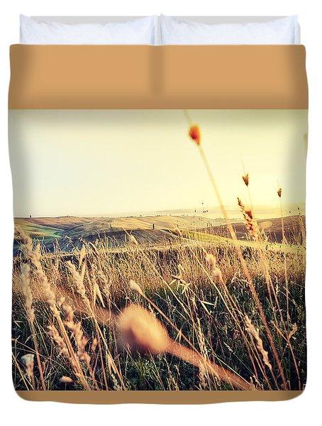 The Fertile Soil Duvet Cover