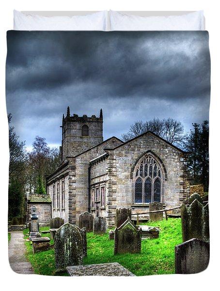 The Fewston Church Duvet Cover