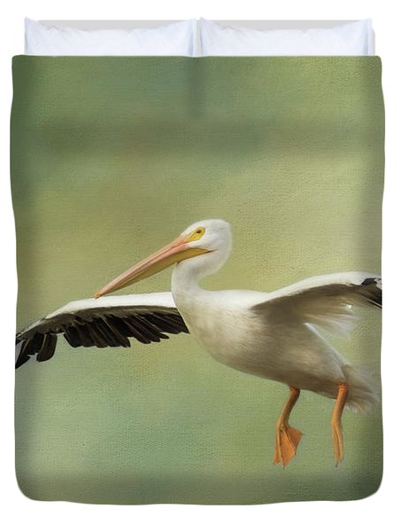 The Final Approach Duvet Cover