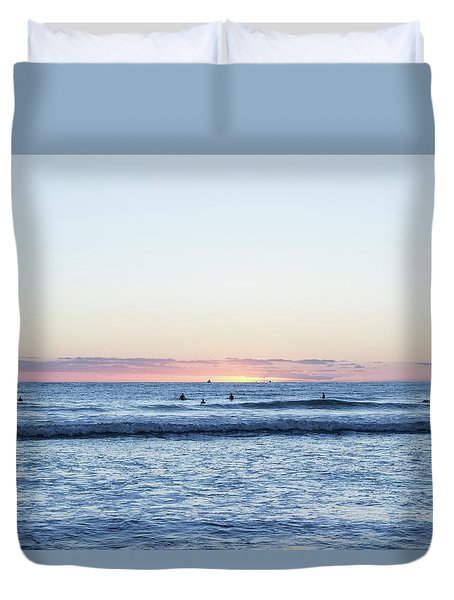 The Final Moments Duvet Cover