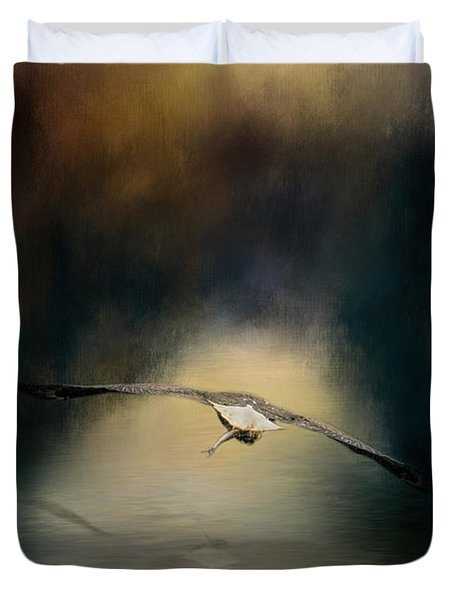 The Finale Duvet Cover by Jai Johnson