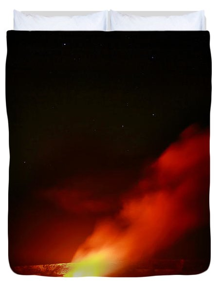 The Fire Inside Duvet Cover