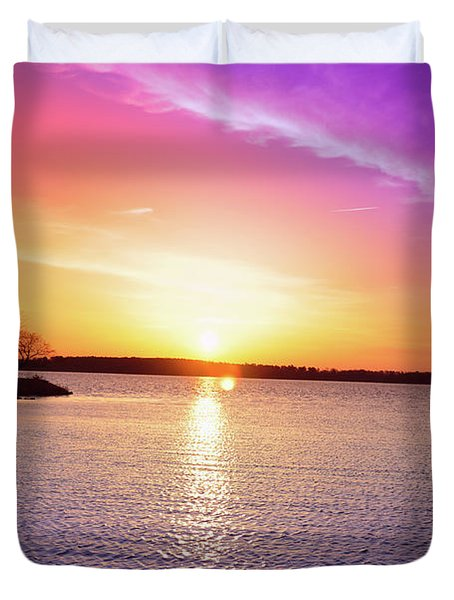 The First Day Of Spring Duvet Cover by Bill Cannon