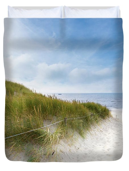 The First Look At The Sea Duvet Cover