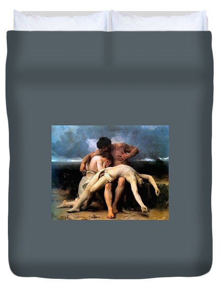 The First Mourning 1888 Duvet Cover