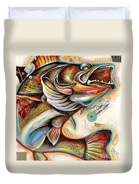 The Fish Duvet Cover