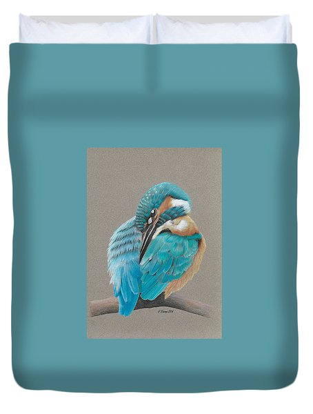 The Fisherking Duvet Cover by Gary Stamp