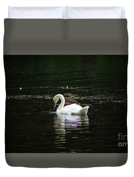 The Fishers Duvet Cover