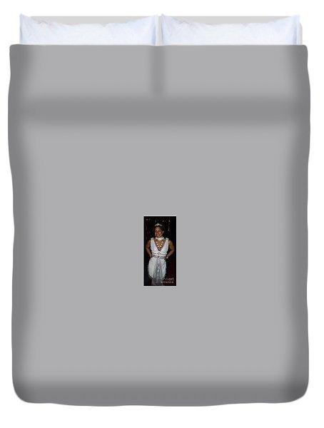 The Fit Goddess Duvet Cover