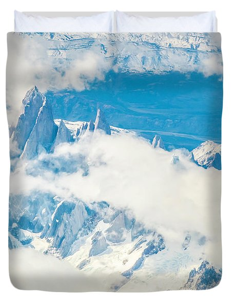 The Fitz Roy Duvet Cover by Andrew Matwijec