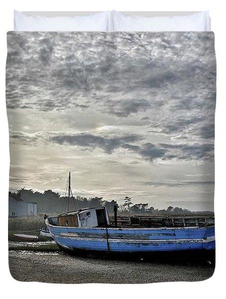 The Fixer-upper, Brancaster Staithe Duvet Cover by John Edwards
