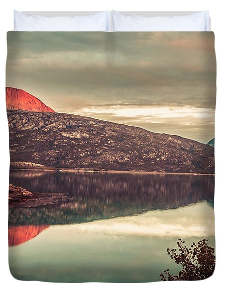 The Flames Duvet Cover