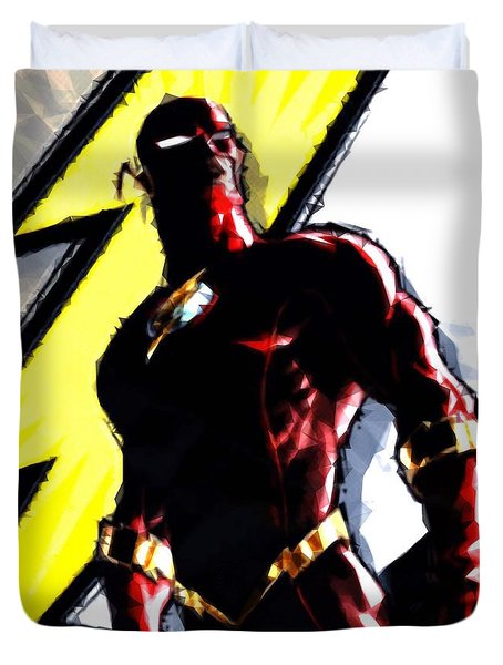 The Flash Duvet Cover