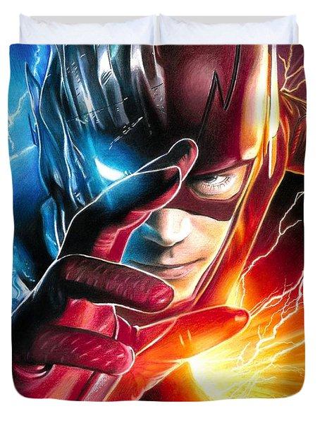 The Flash / Savitar / God Of Speed Duvet Cover