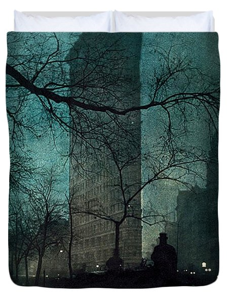 The Flatiron Building Duvet Cover